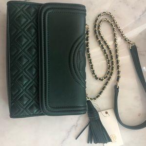 Tory Burch Green purse